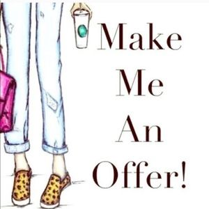 Other - I ❤️ offers! My goal is to sell!